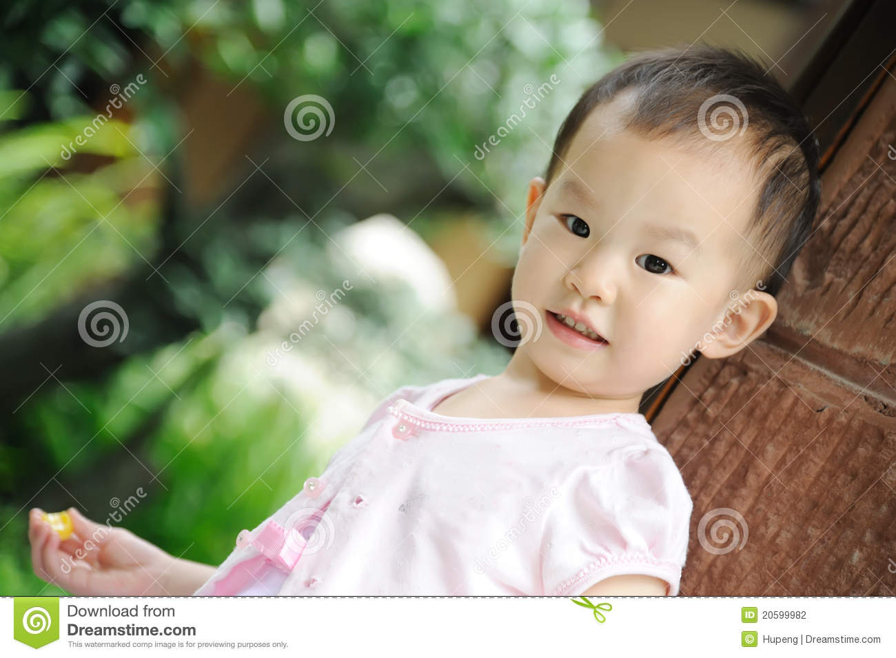 Cute Chinese Baby Stock Photography Image 20599982