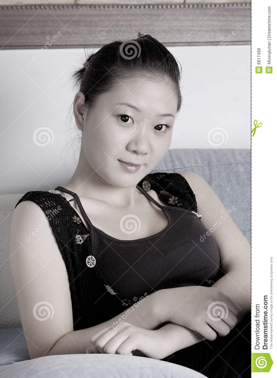 Cute chinese lady