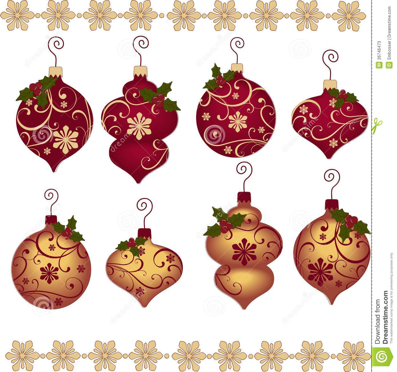 Collection For Scrapbook. Borders. Stock Vector - Image: 46891390