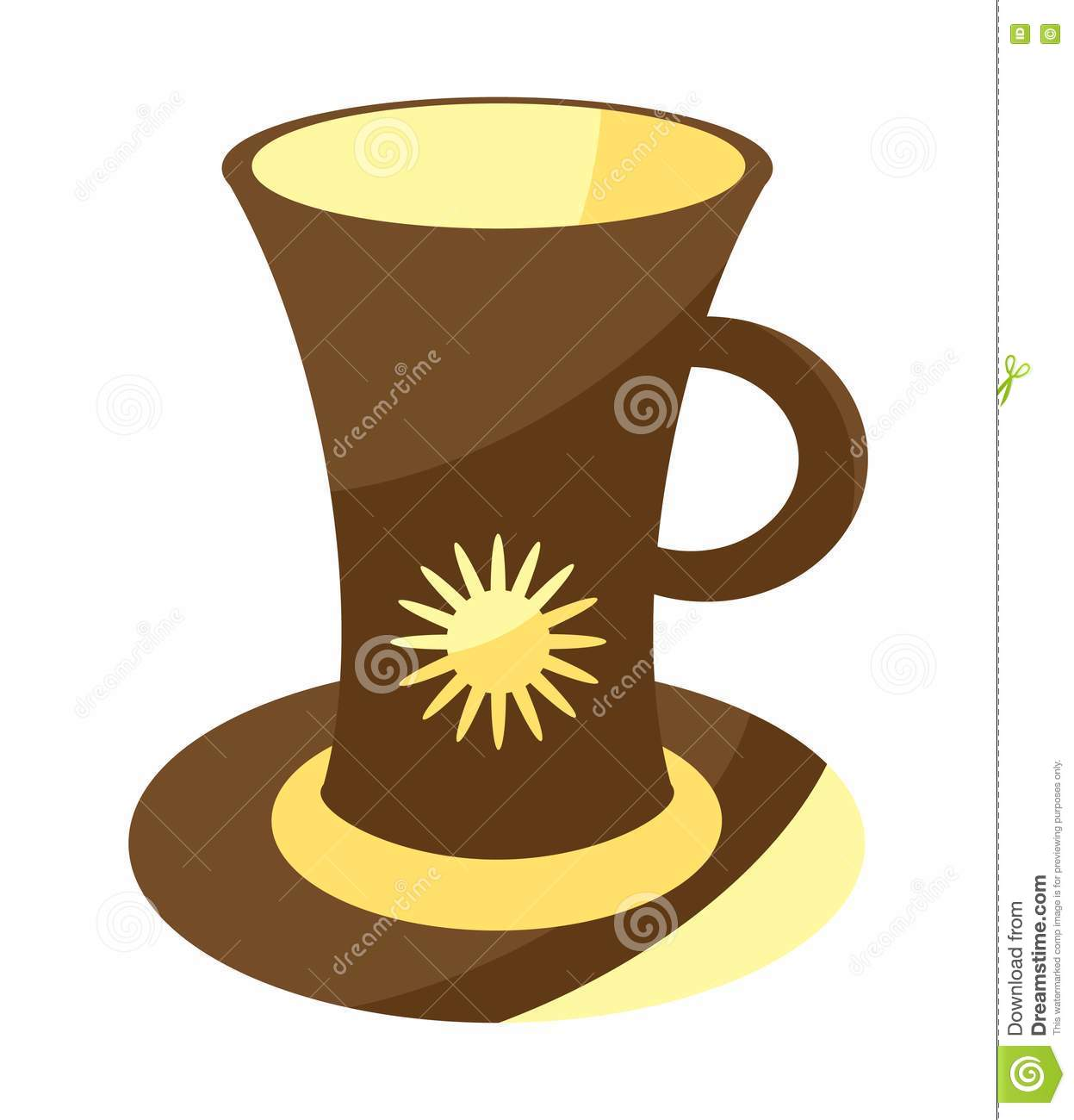 Cute Coffee Cup Royalty Free Stock Photo Image 14244395