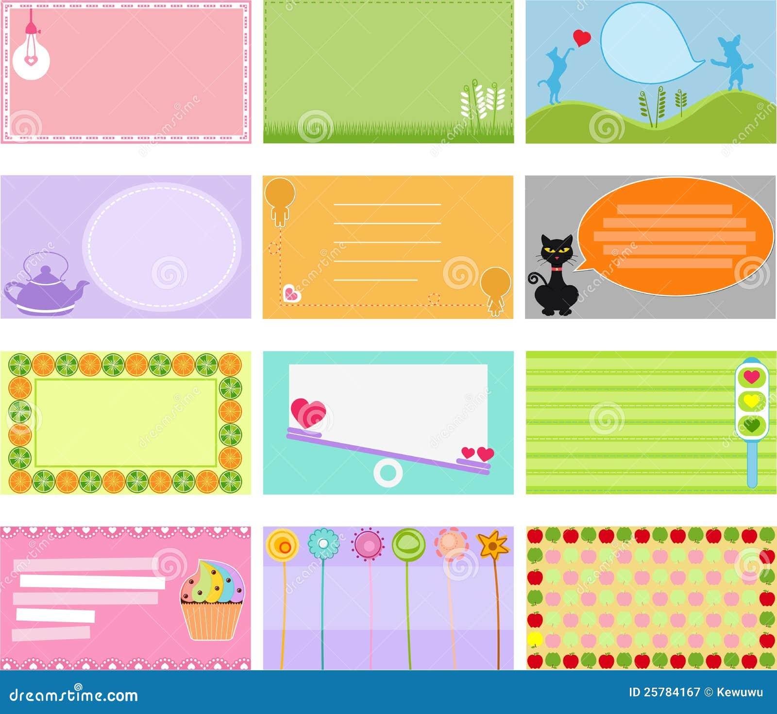 Graphic Design Art Student Label Design
