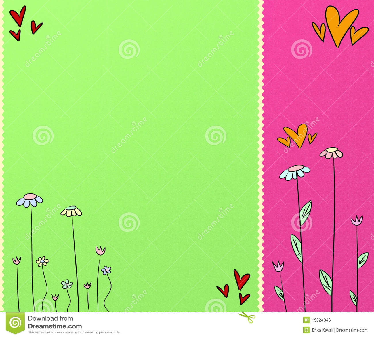 Cute Colorful Background Royalty Free Stock Image Image