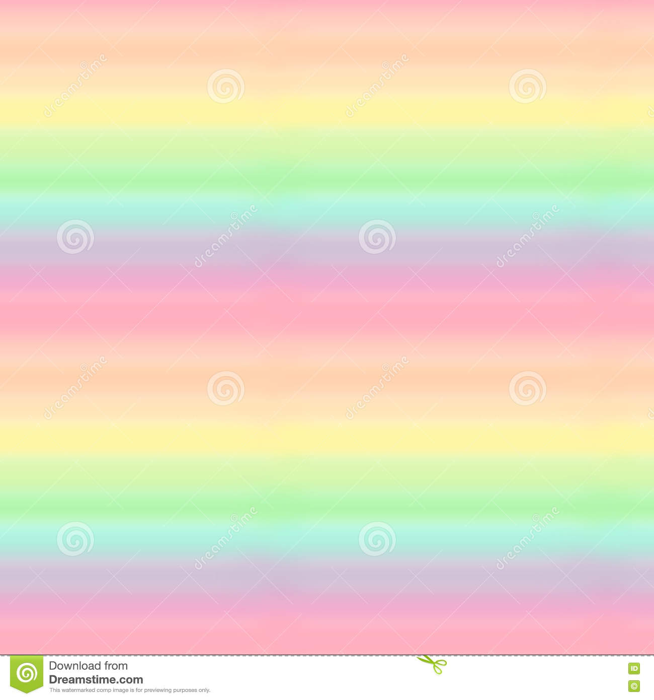 Cute Colorful Pastel Rainbow Seamless Pattern Background Illustration Stock Illustration Illustration Of Colorful Template 72927619
