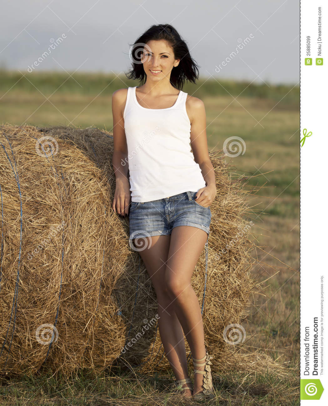 Cute Country Girl Royalty Free Stock Images - Image: 25885099