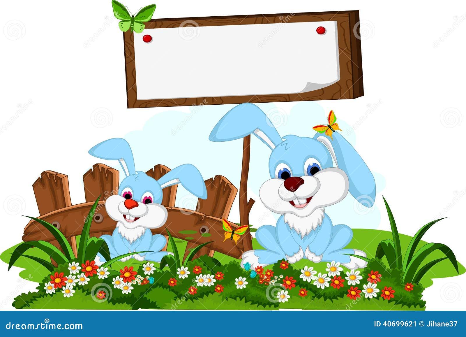 Flower garden cartoon - Blank Board Cartoon Couple Cute Flower Garden