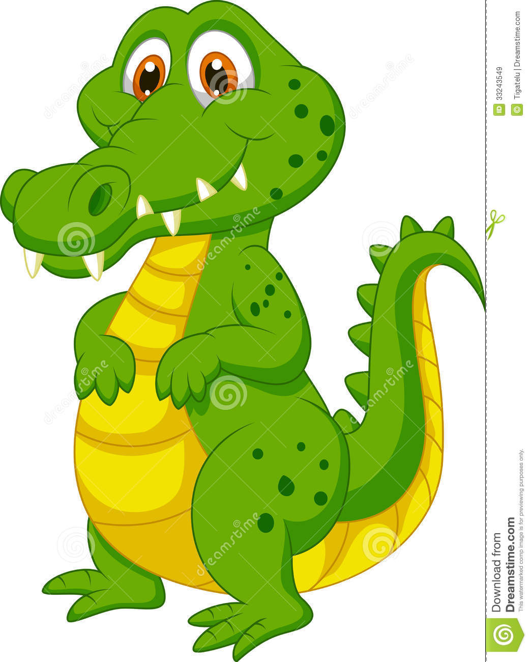 Free Animated Alligator Clipart