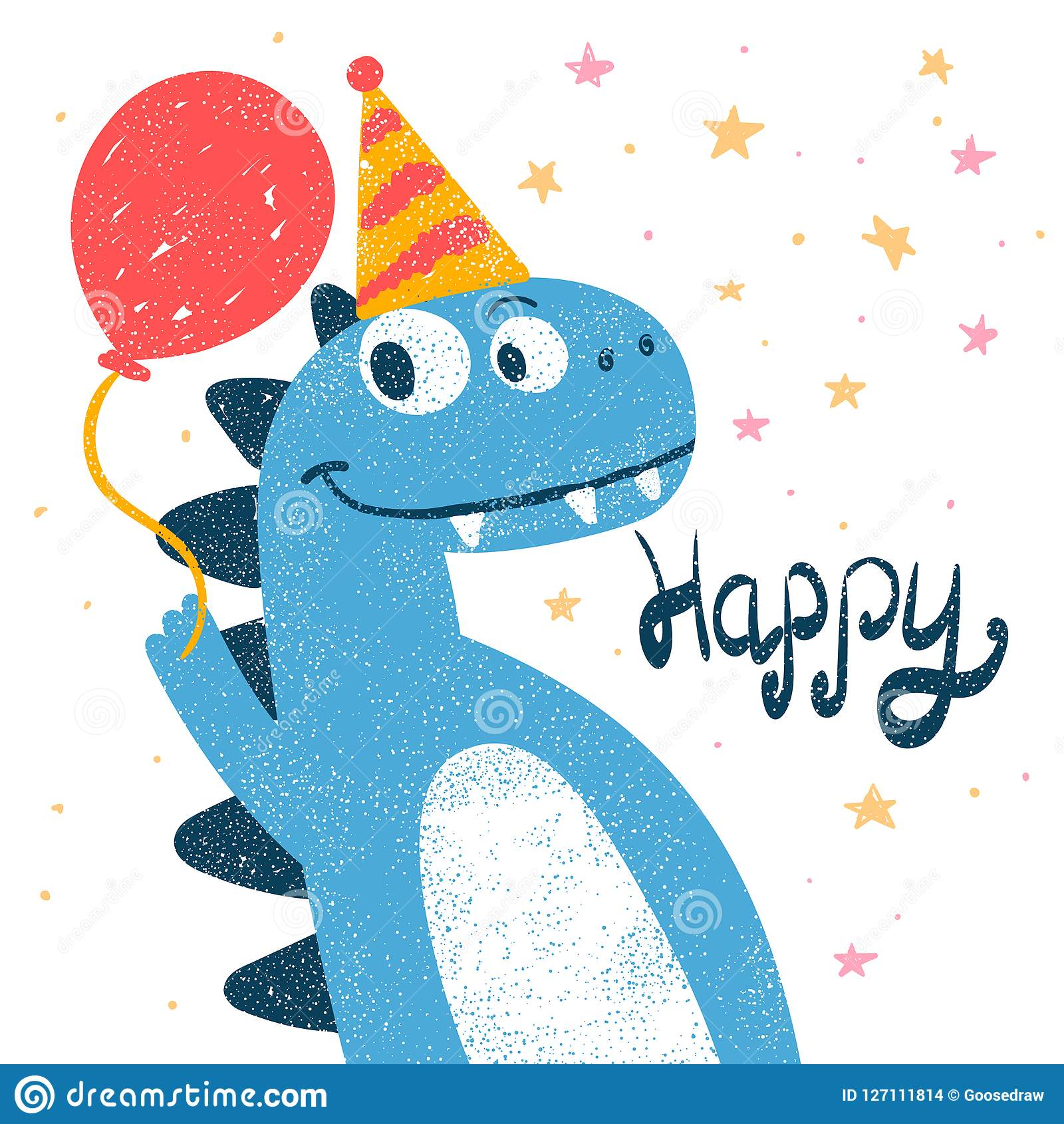 Cute Dino  Dinosaur Illustration For Print T