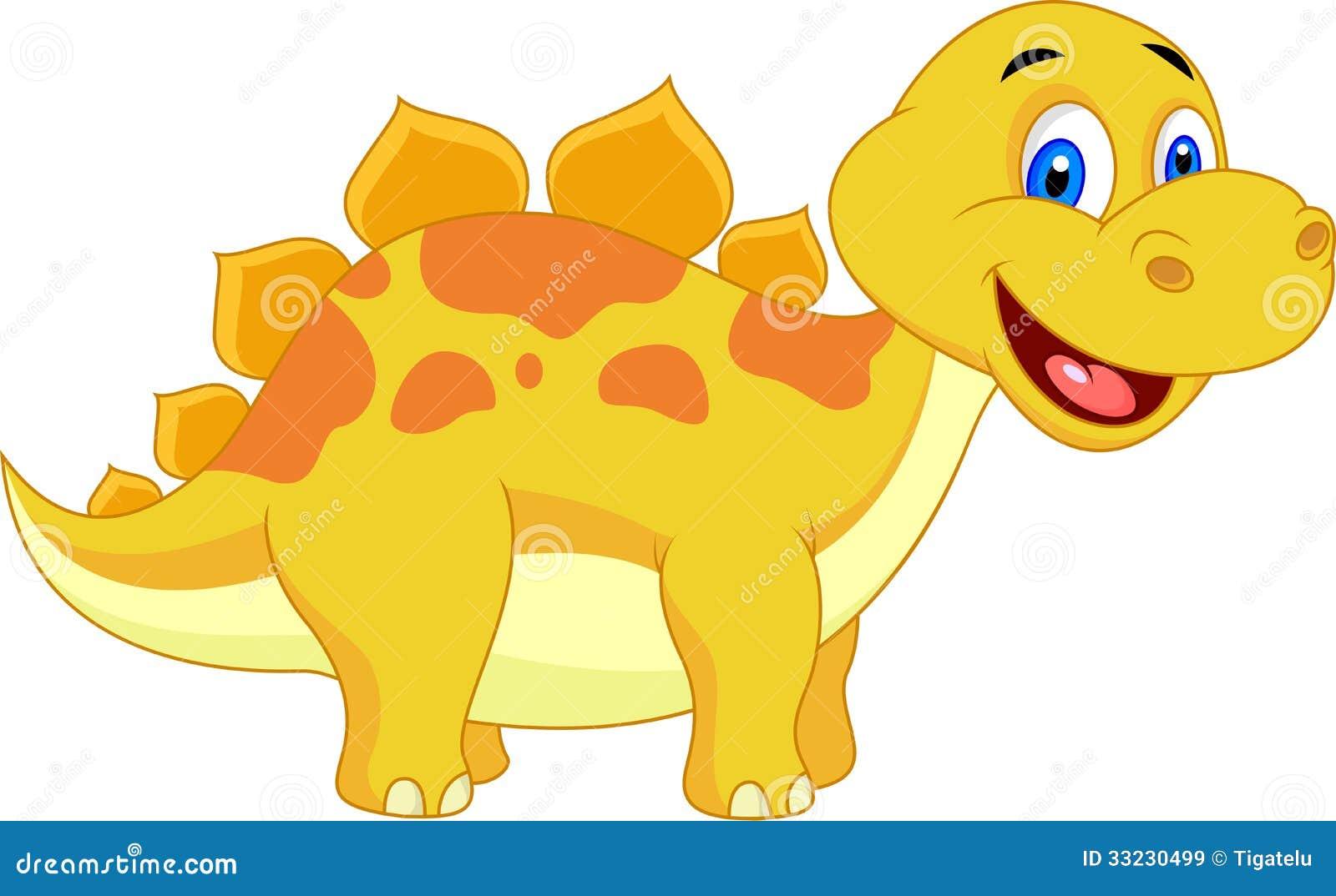 Image of: Vector Illustration Cute Dinosaur Cartoon Dreamstimecom Cute Dinosaur Cartoon Stock Vector Illustration Of Funny 33230499