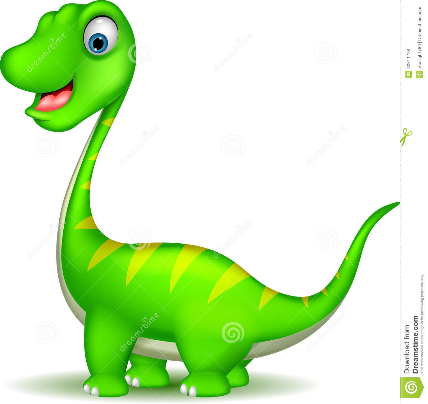 Cute Dinosaur Cartoon Stock Images - Image: 30611734