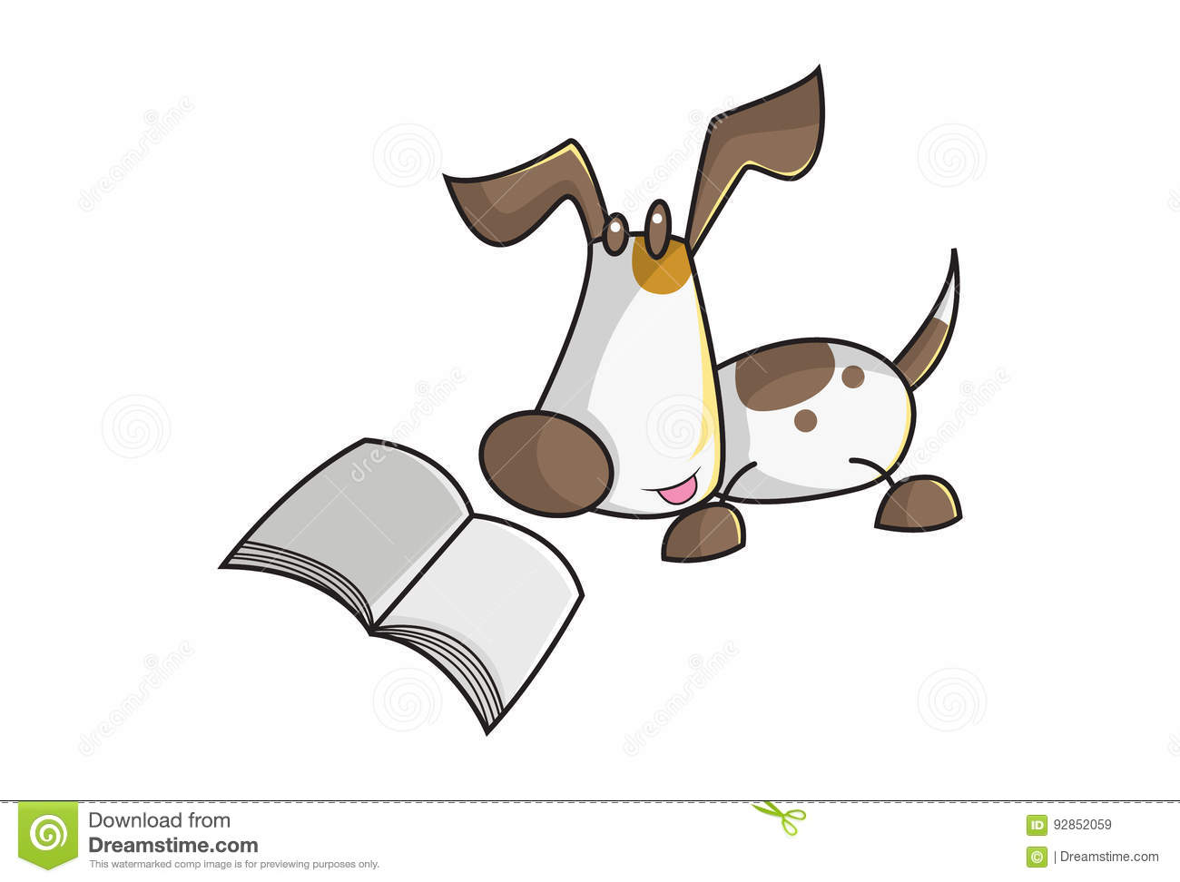 Cute Dog Stock Illustration Illustration Of Cutness 92852059
