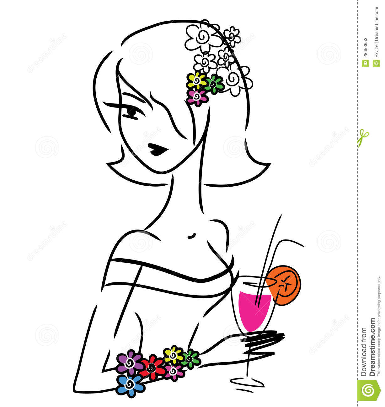 100961 Cricket Player Vector further Border Control likewise Wall Sticker Sunflower Style 1530 besides Stock Photos Cute Doodle Girl Drink Image28653653 in addition Louisxv1. on pink drawing