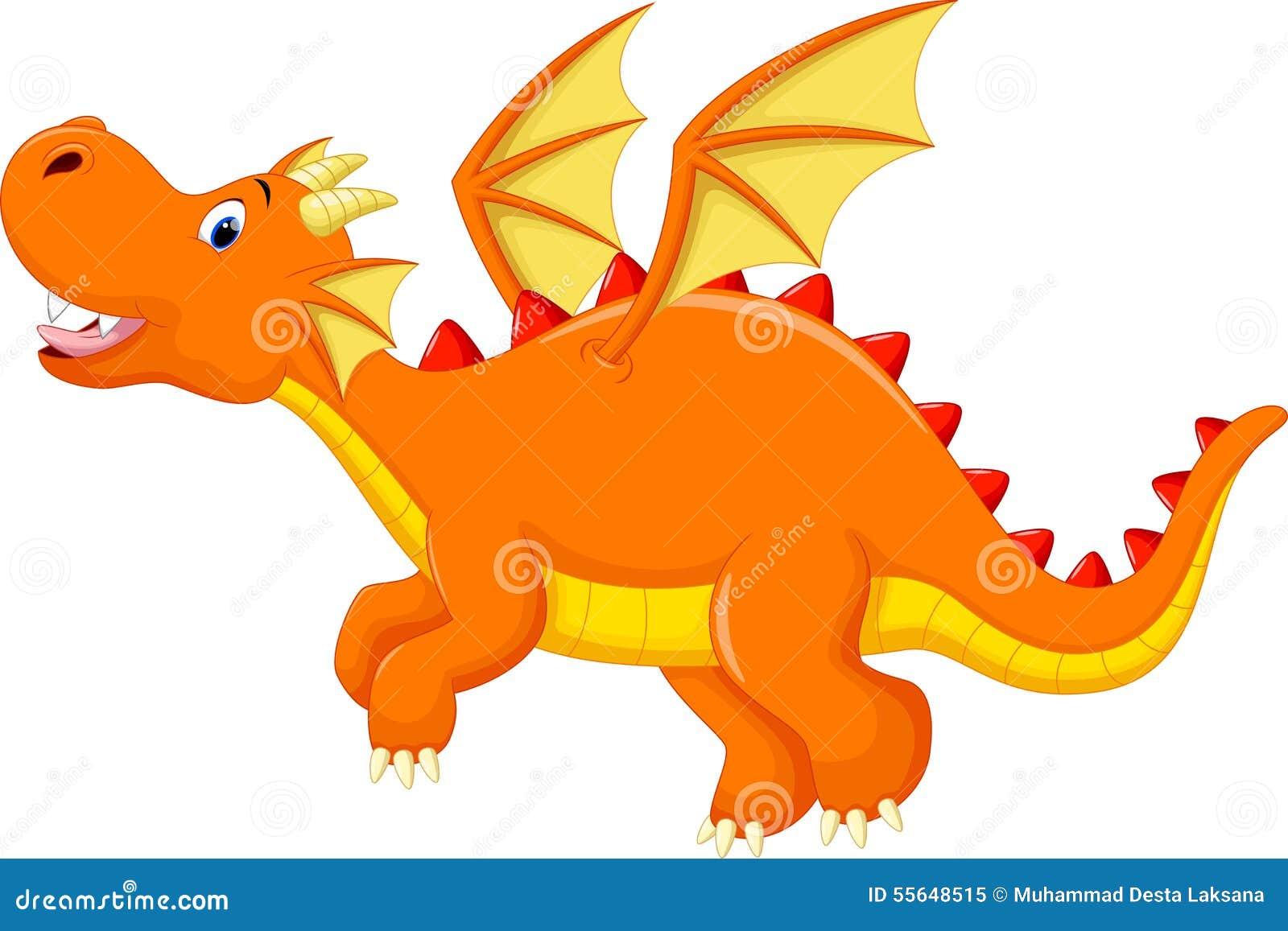 cute dragon cartoon stock illustration   image 55648515