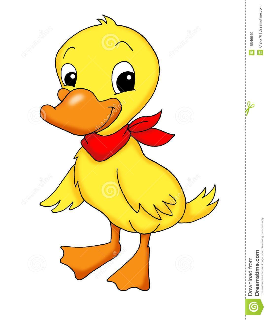 Cute Duckling Stock Photo - Image: 15546940