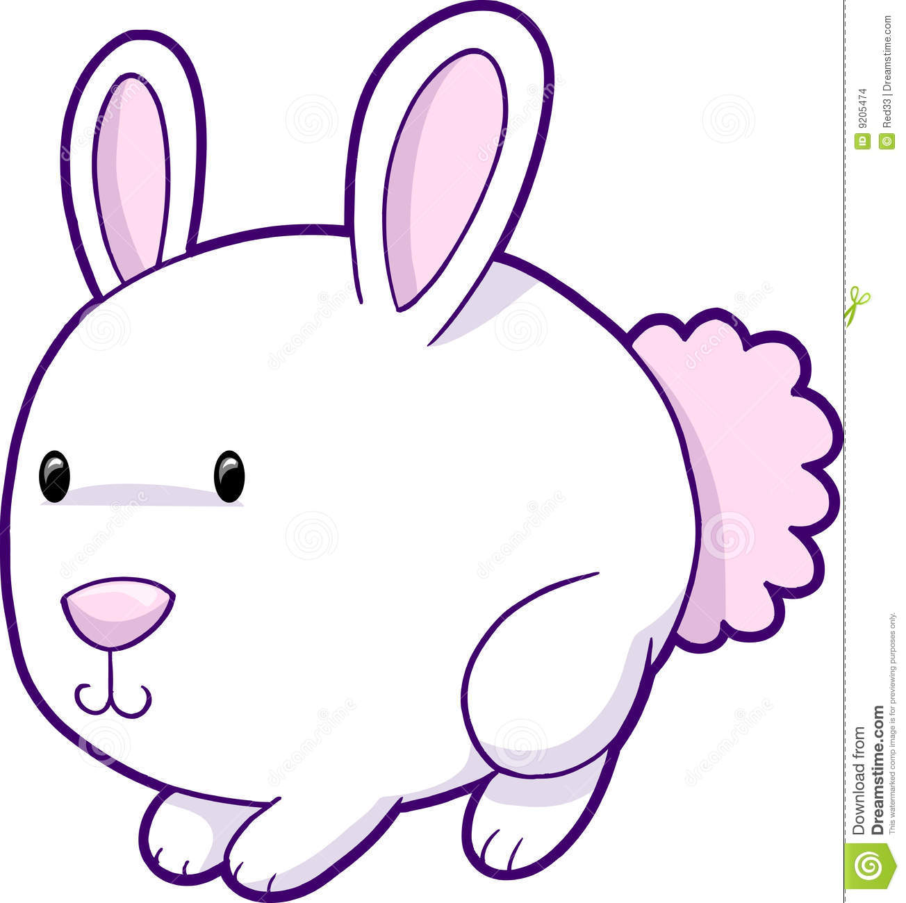 Cute Easter Pictures Cute easter bunny vector