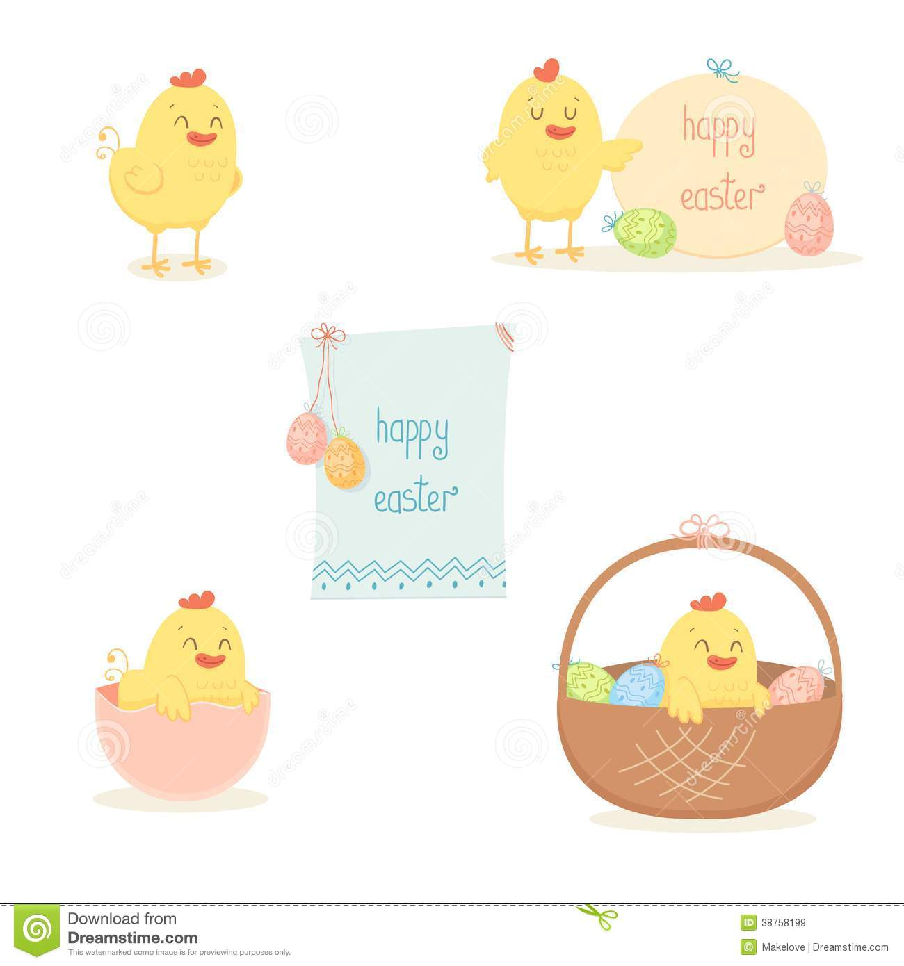 Cute Easter Pictures Cute easter chicken