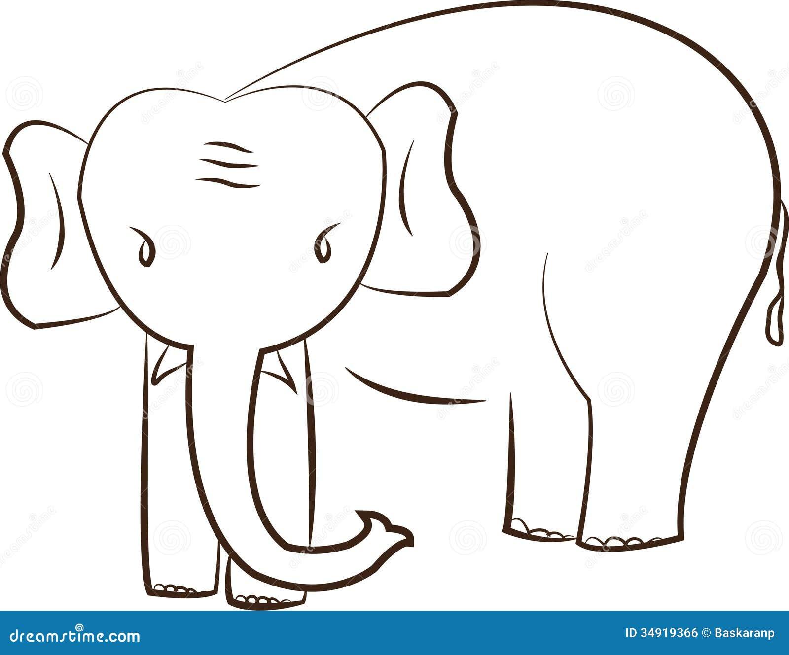 cute elephant royalty free stock image image 34919366