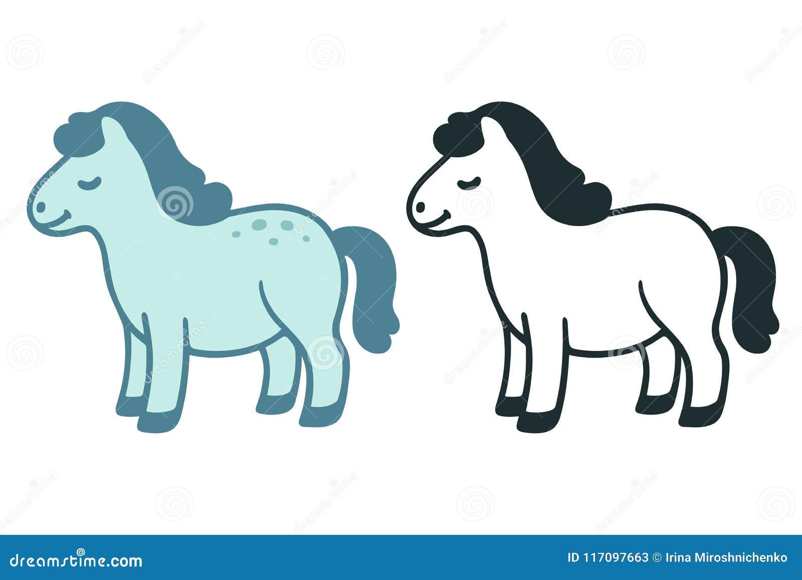 Fat Pony Stock Illustrations 971 Fat Pony Stock Illustrations Vectors Clipart Dreamstime