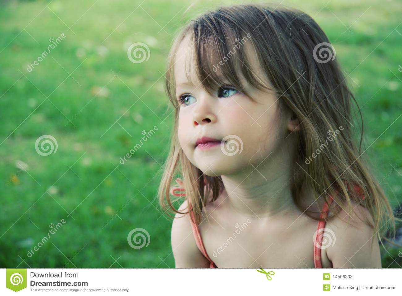 Cute Female Toddler Outdoors Stock Photos Image 14506233