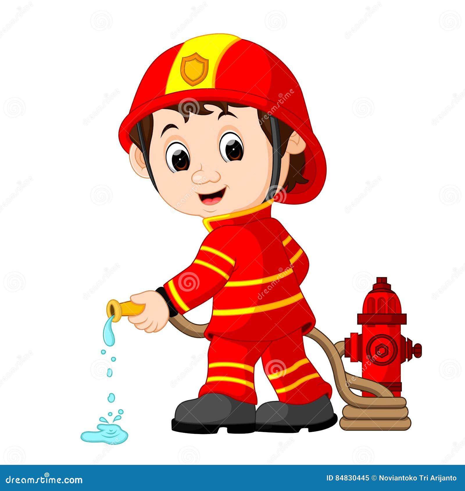 Fireman Cartoons, Illustrations & Vector Stock Images