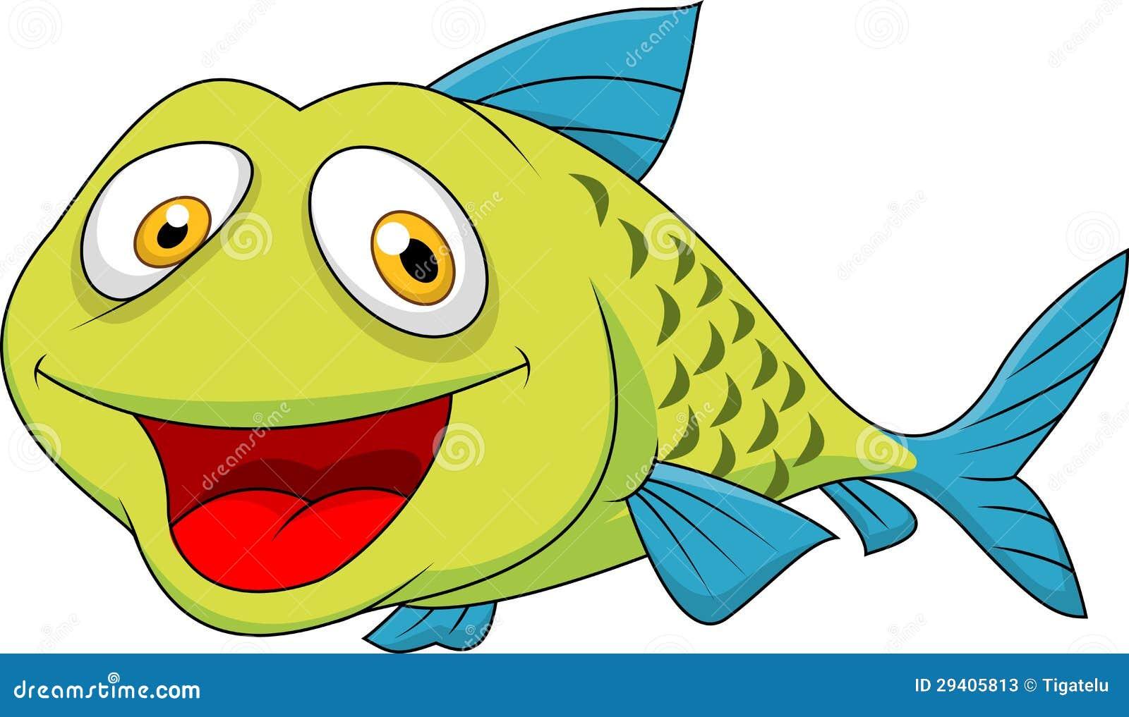 Cute fish cartoon stock photos image 29405813