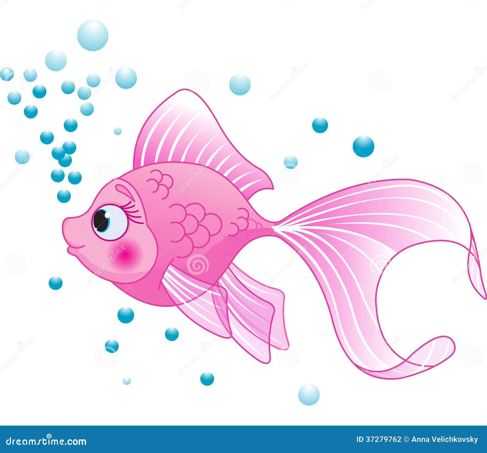 Cute Fish Stock Photography