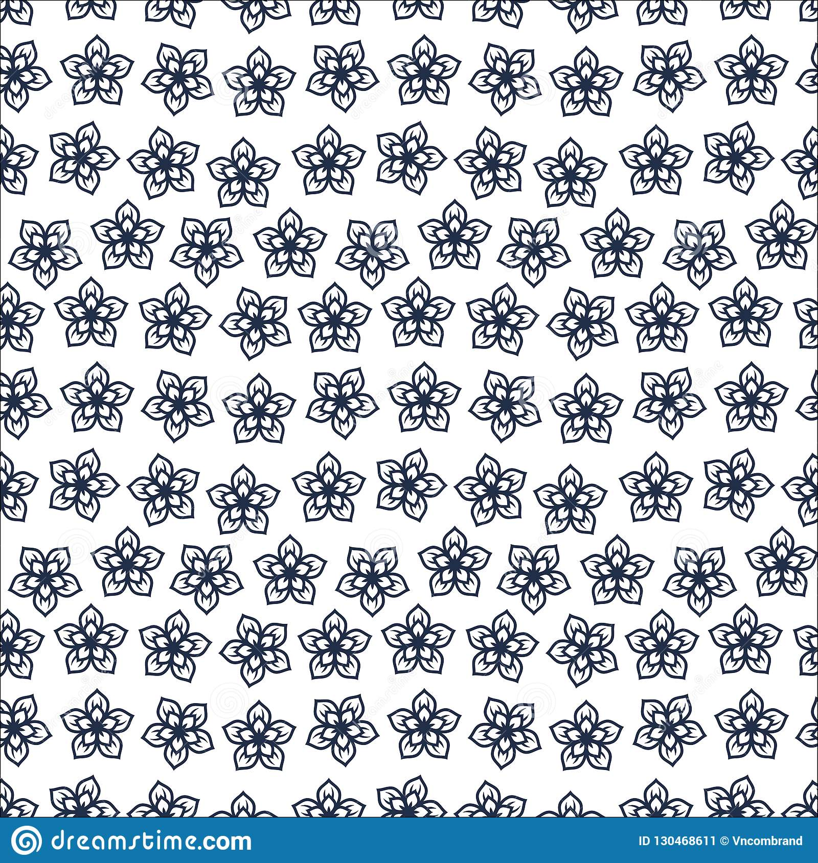 cute floral pattern in the small flower motifs scattered random