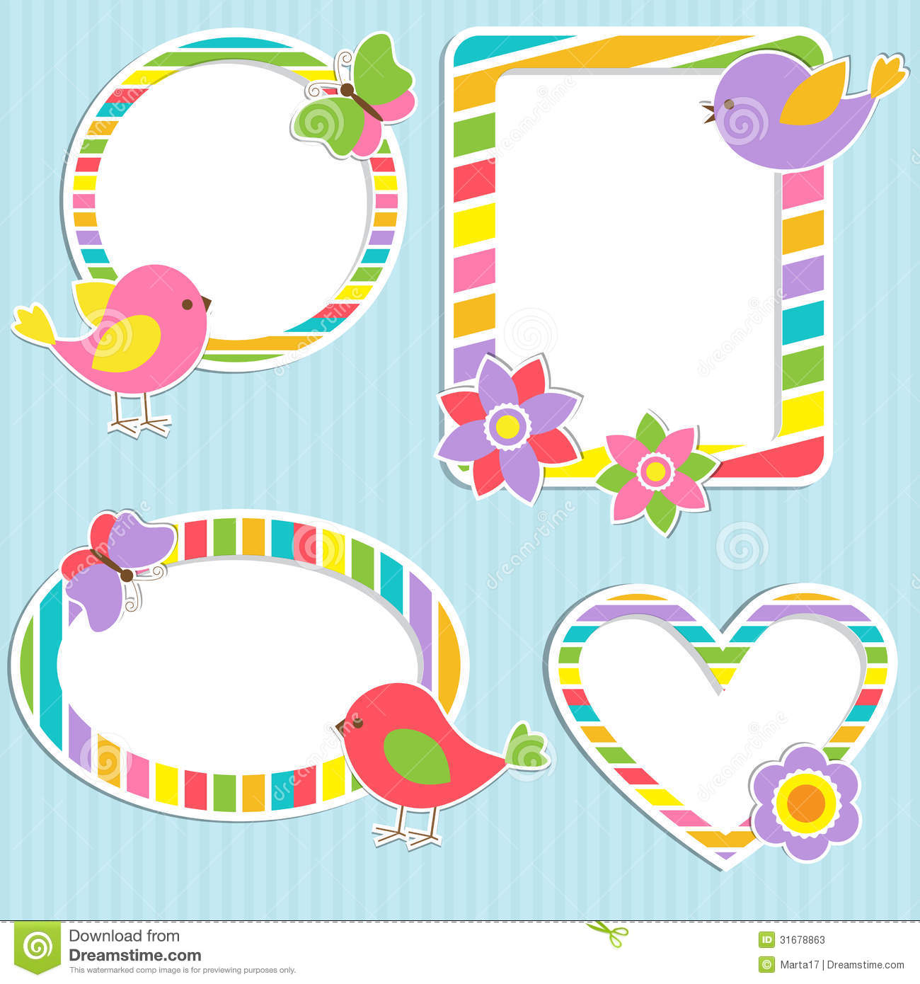 Cute Frames Stock Photos Image 31678863