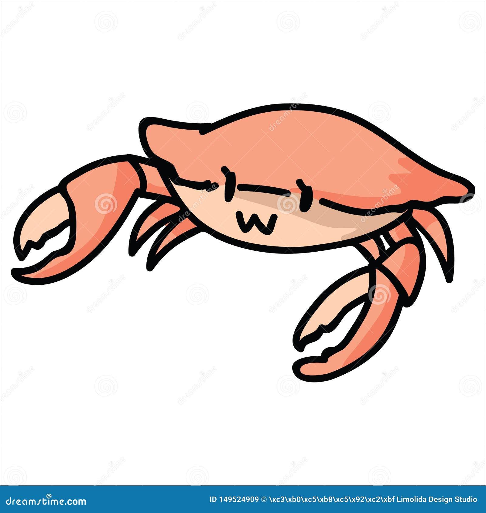 Cartoon Crab, Cartoon Clipart, Red Crab, Crab PNG Transparent ...   1689x1600