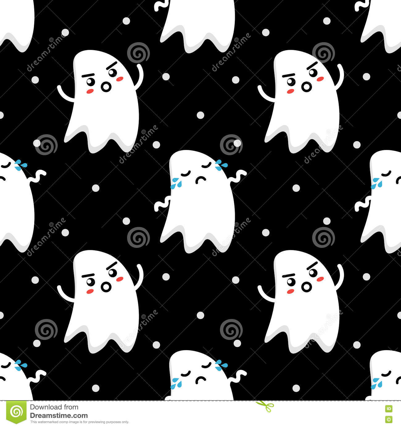 Ghosts couple stock illustration 76861876 for Www dreamhome com
