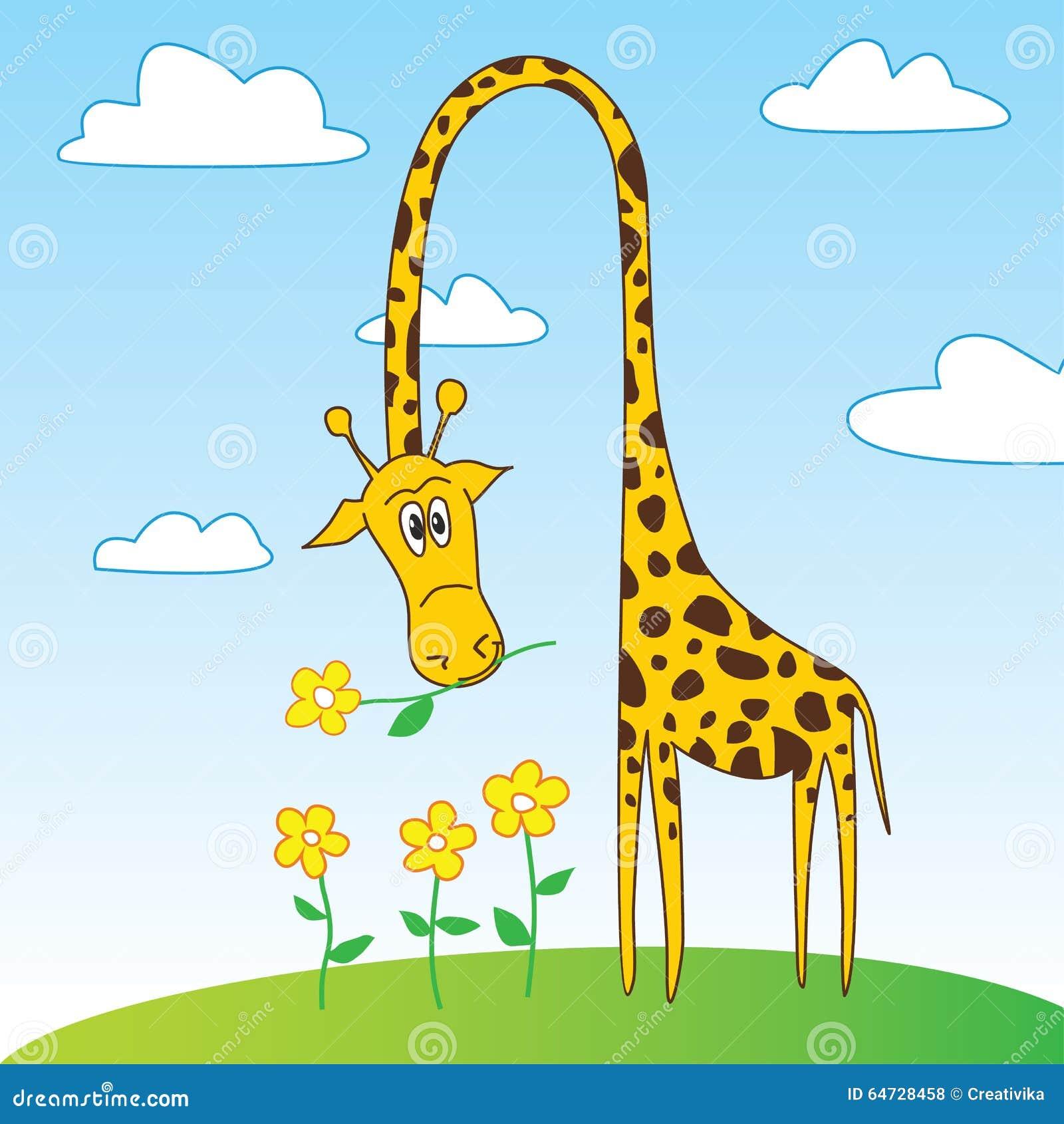 funny giraffe comic
