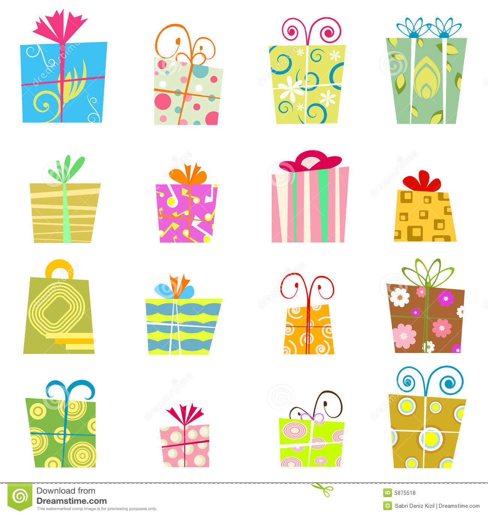 Cute Gift Box Vector Royalty Free Stock Photos - Image ...