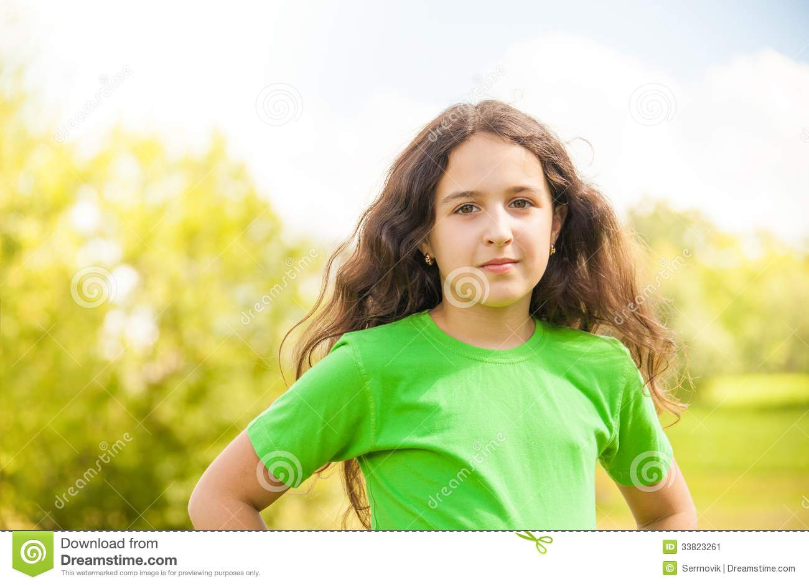 Cute Girl Stock Image Image 33823261