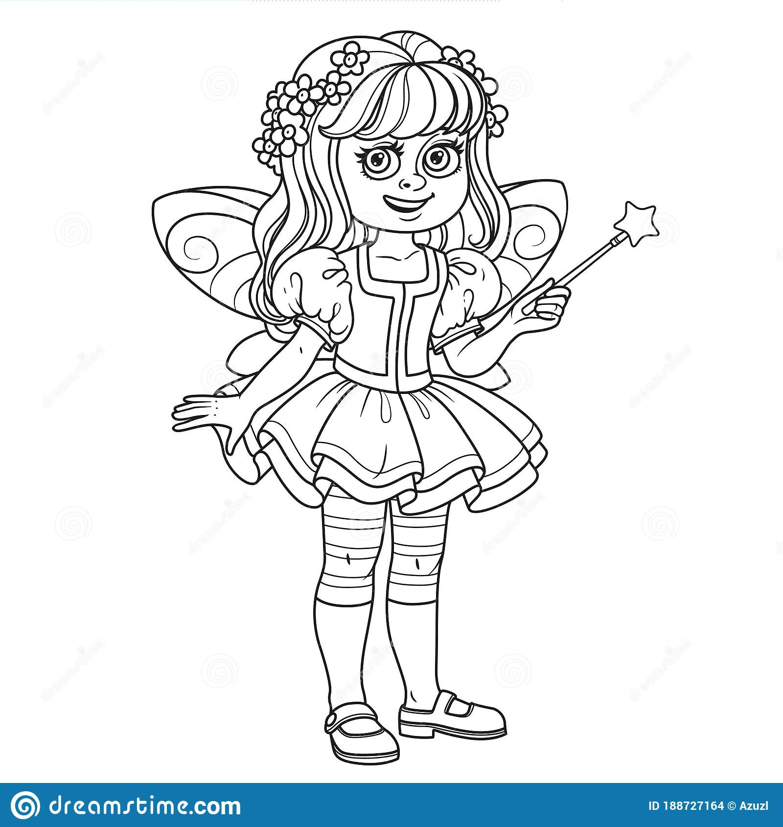 Magic Wand Coloring Page Stock Illustrations 271 Magic Wand Coloring Page Stock Illustrations Vectors Clipart Dreamstime
