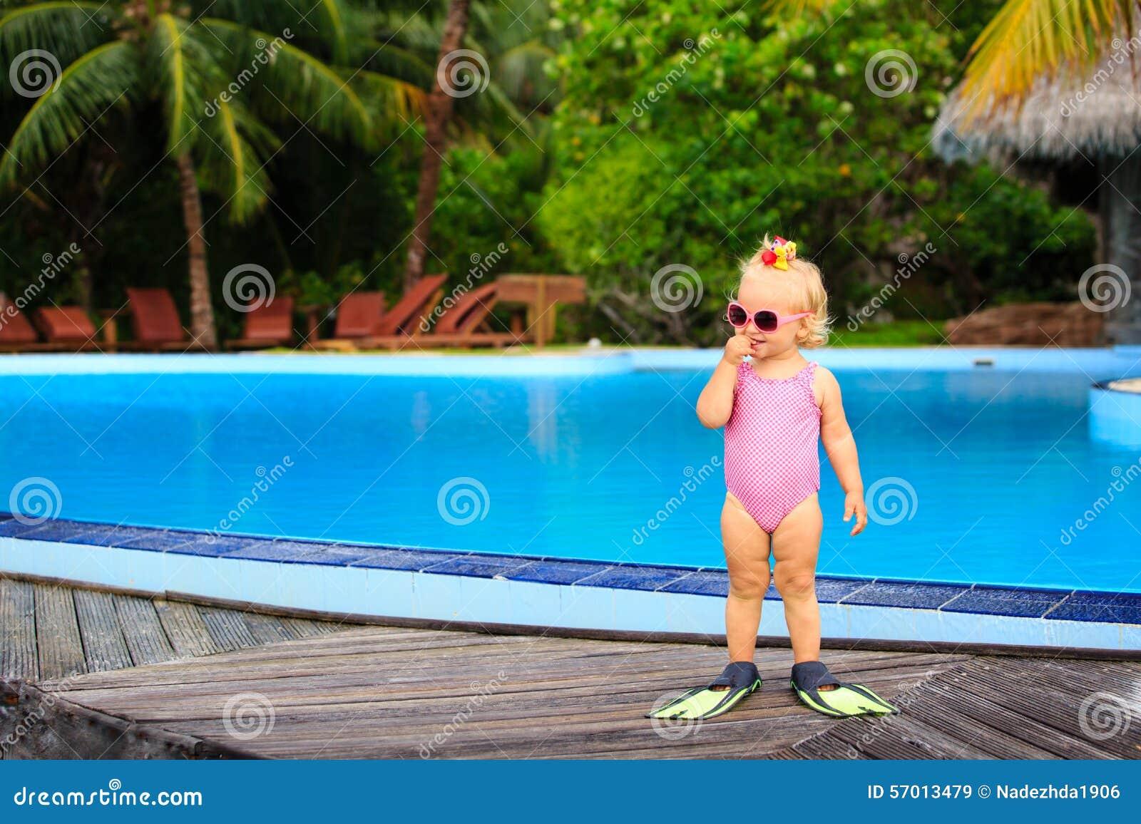 Consider, Sweet girls swim pool consider