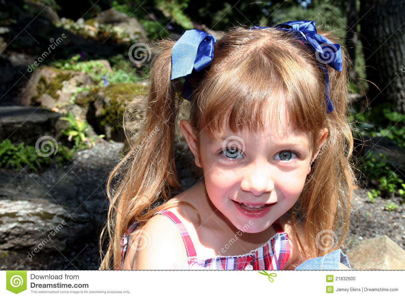 cute nude young pigtails