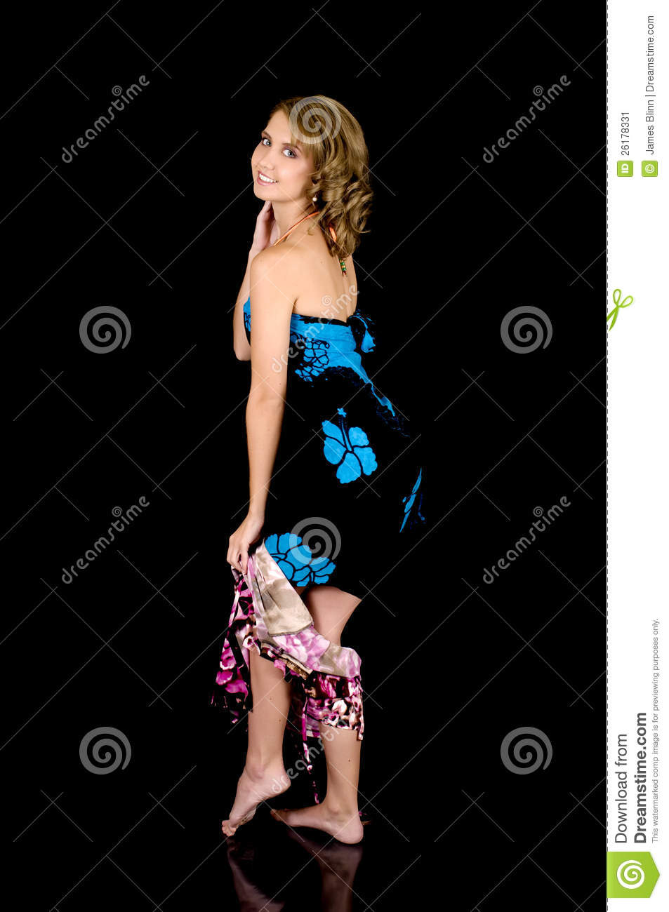 Cute Girl Removing Her Dress Stock Image Image 26178331