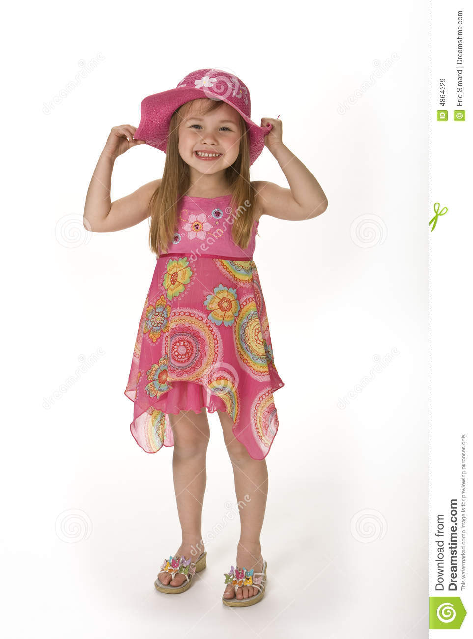 d48a88b1a89 Cute Girl in Summer Wear stock image. Image of girl, happiness - 4864329