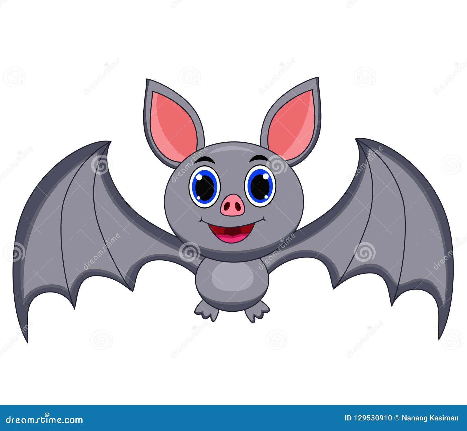 Cartoon Bats: Cartoon Drawing Of Dracula Vector Illustration