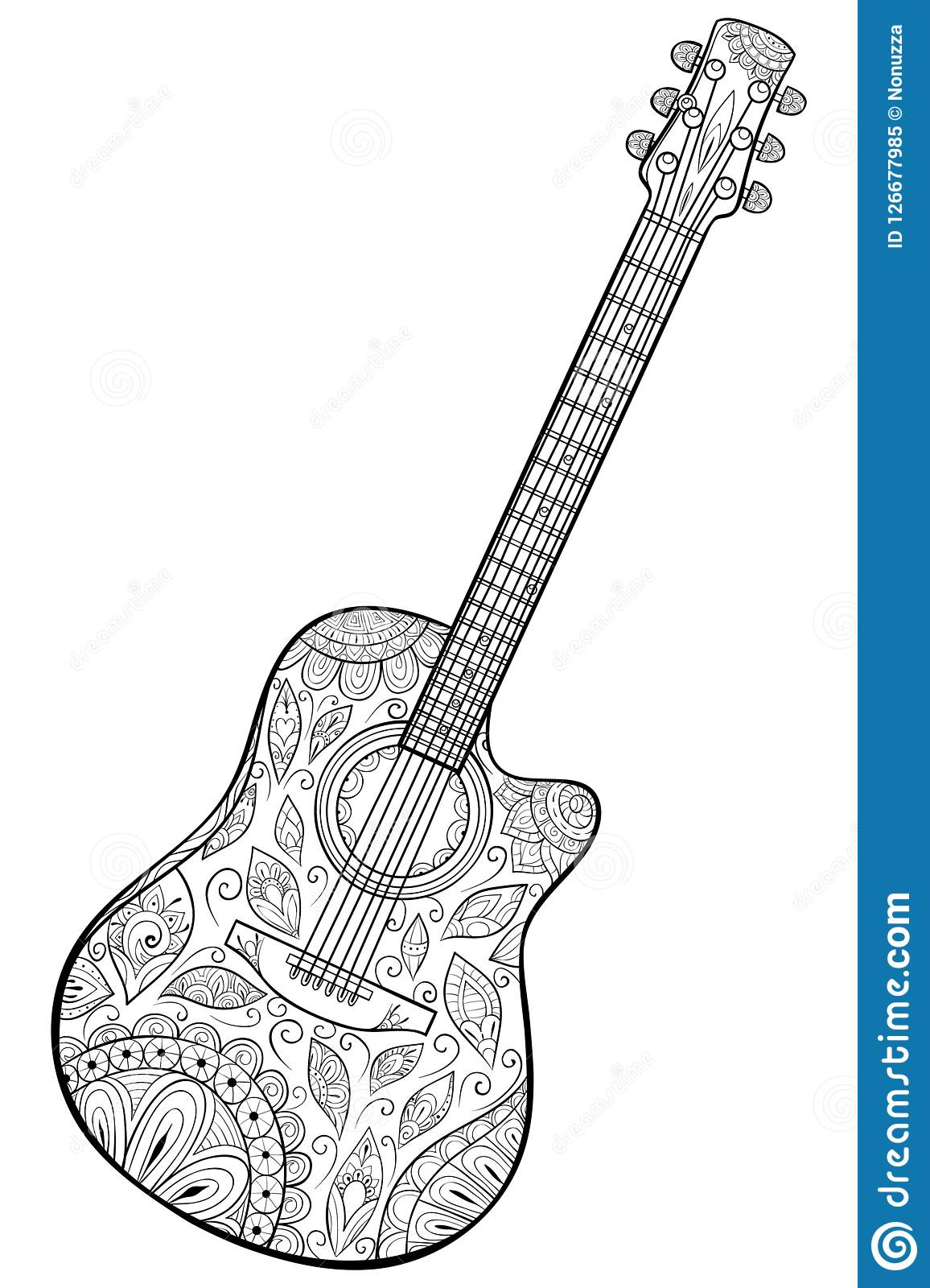 Free Printable Music Coloring Pages | 1600x1156