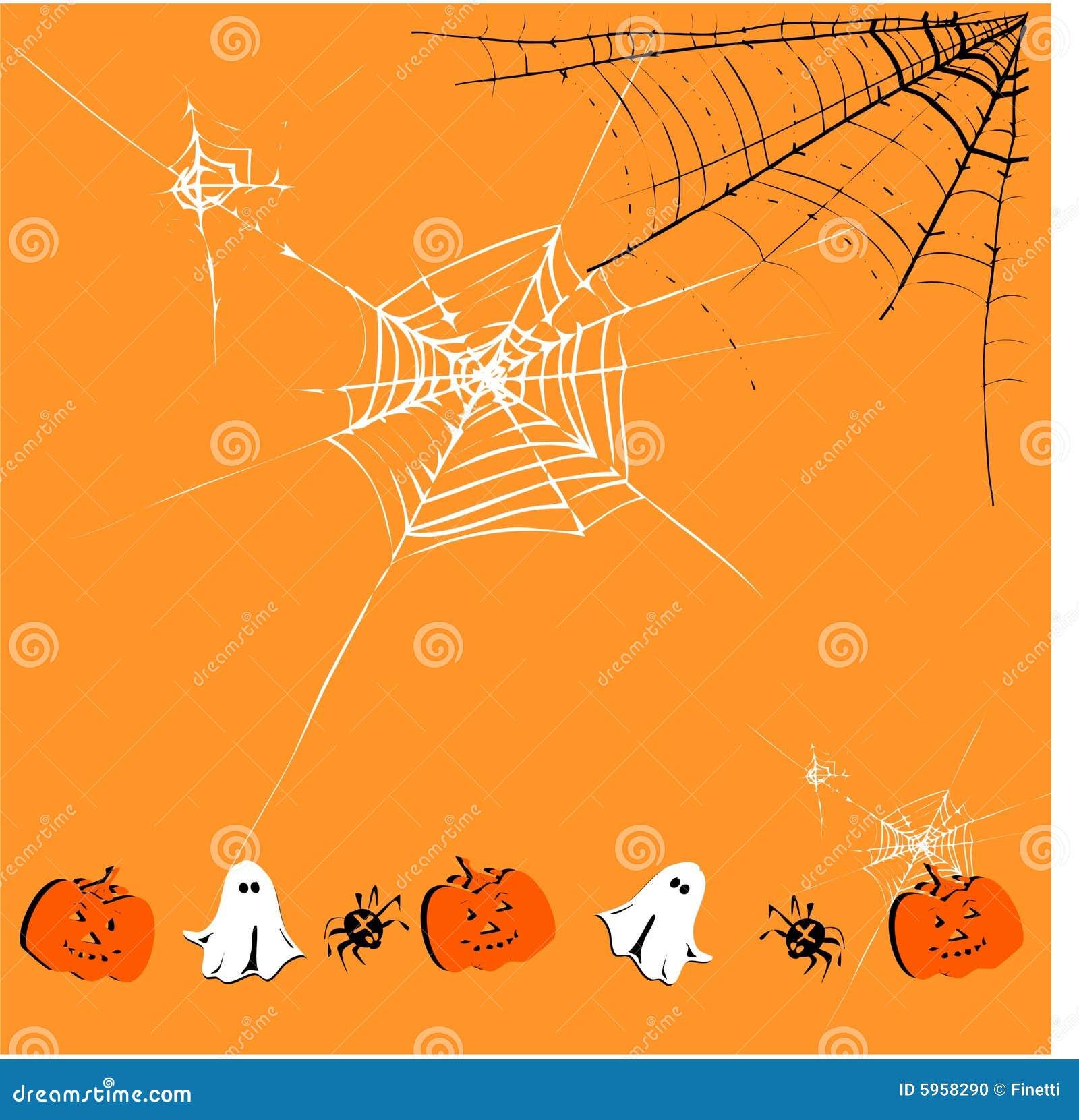 Cute Halloween Background Stock Photo - Image: 5958290