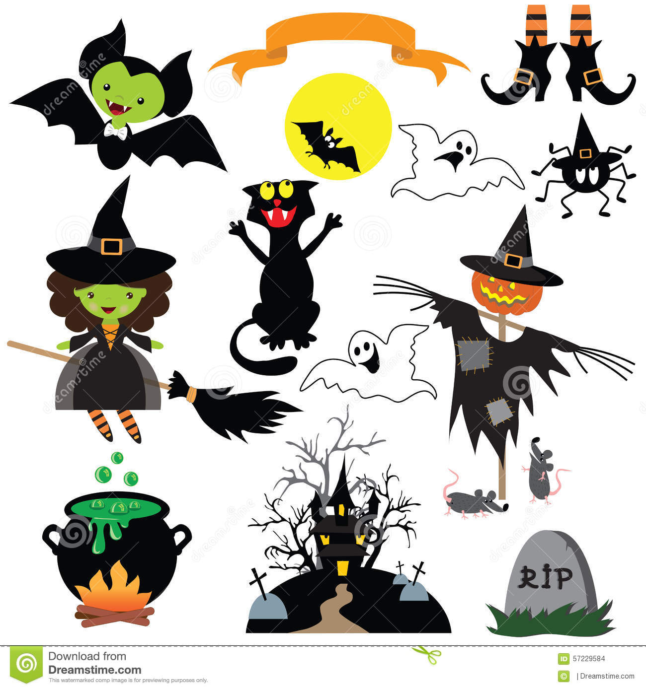 cute halloween characters vector illustration stock vector trick or treat clip art halloween trick or treat clipart transparent background