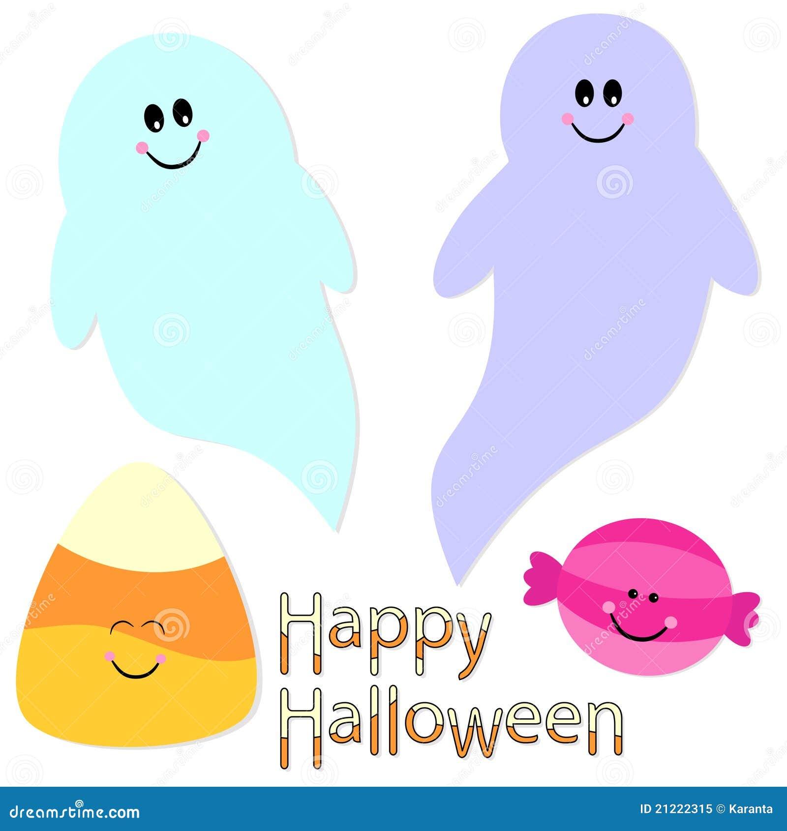 cute halloween graphics collection stock illustration illustration