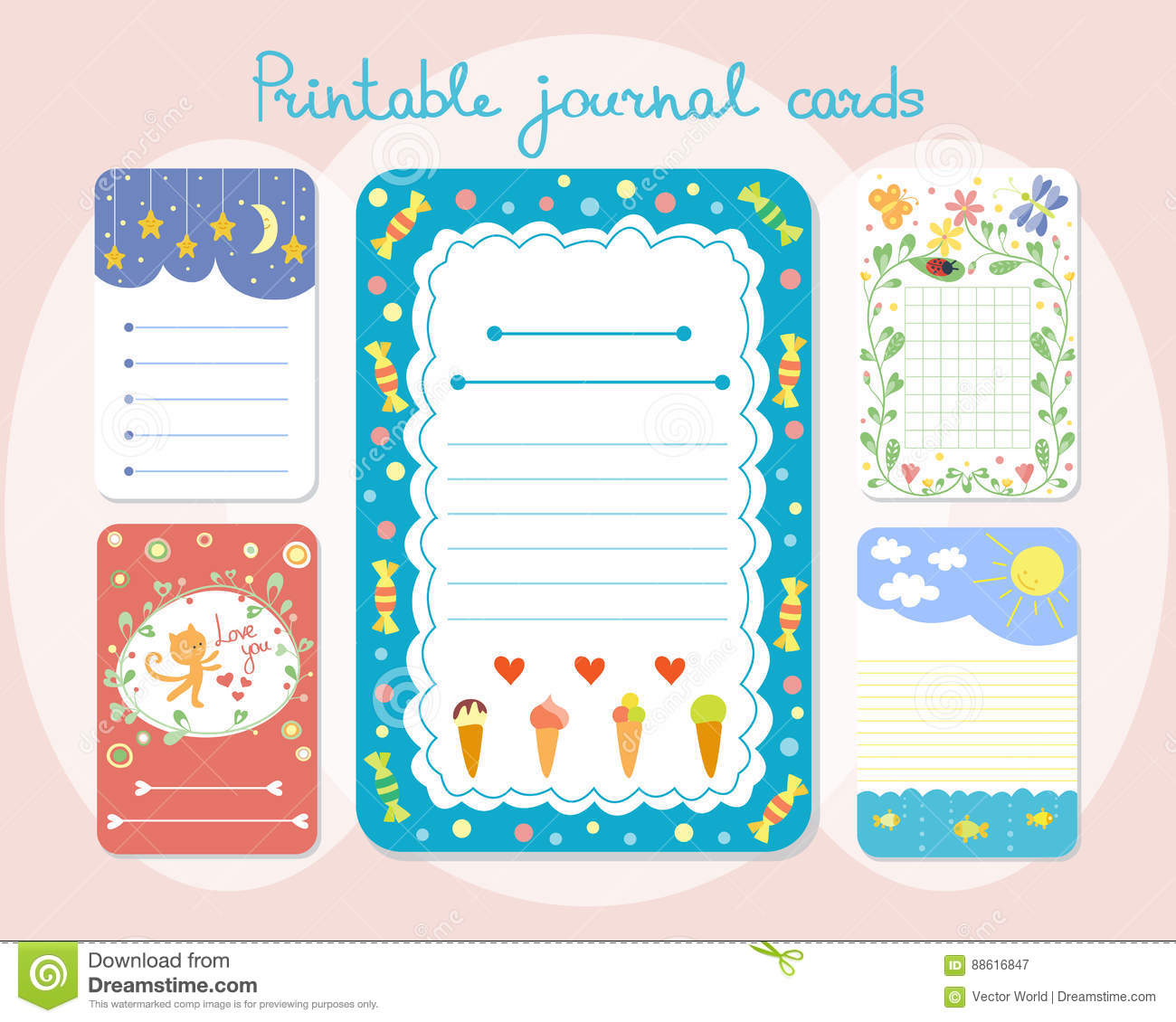 Baby Journal Template from thumbs.dreamstime.com