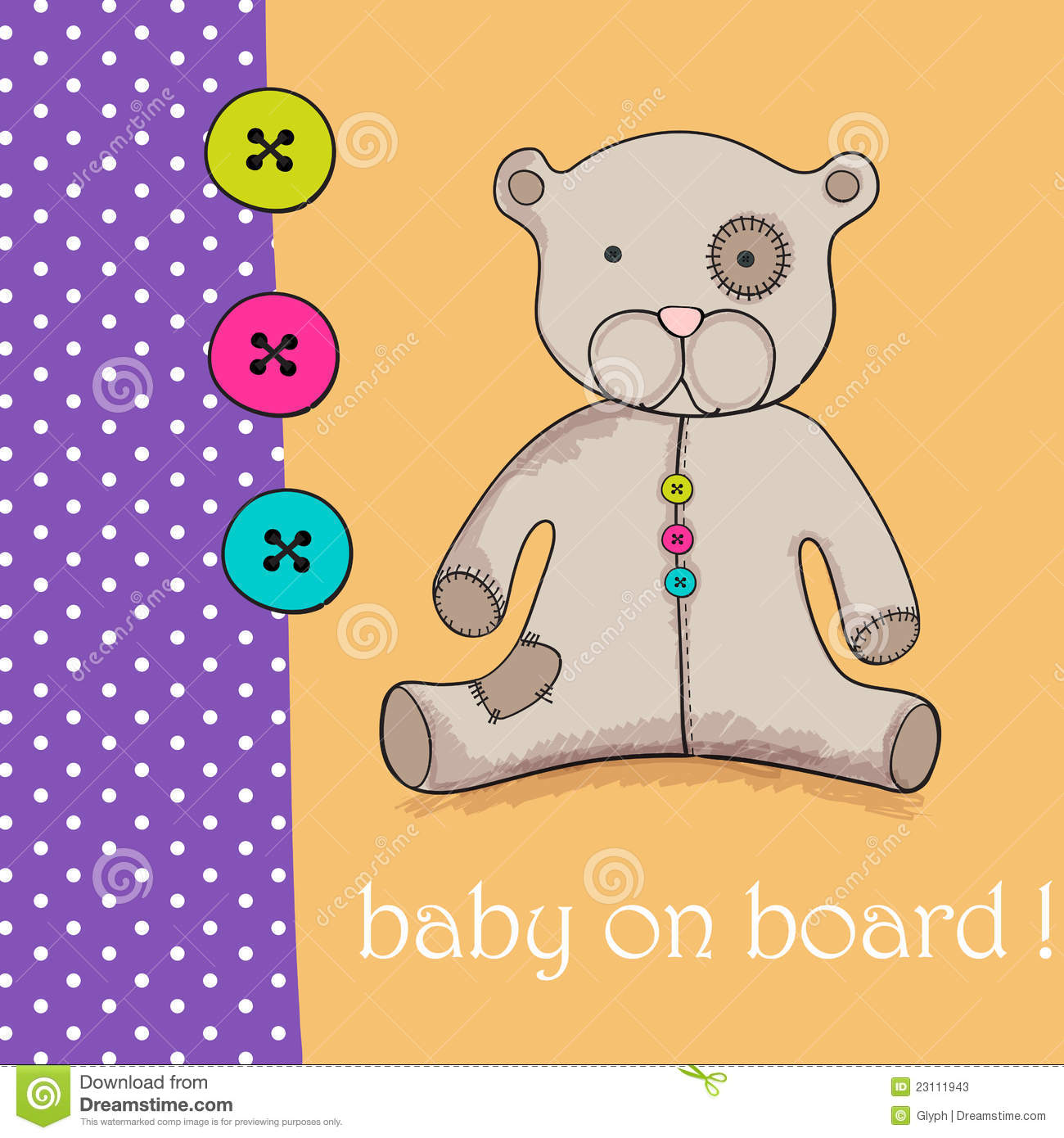 Baby Boy Teddy Bear Drawing