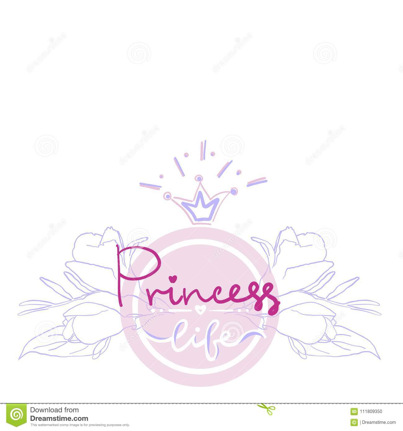 Princess Birthday Party Card Color Girl Projekt Logo Print T Shirt Lettering