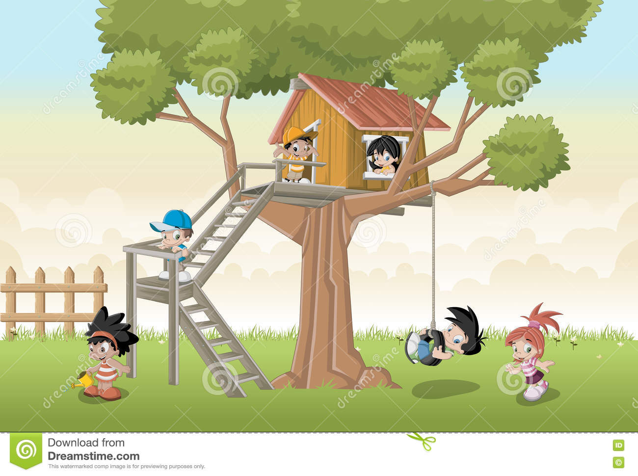 Kids Cartoon Playing Tree Stock Illustrations 2 585 Kids Cartoon Playing Tree Stock Illustrations Vectors Clipart Dreamstime This list of the top current and canceled treehouse tv series includes the date when each show first aired. dreamstime com