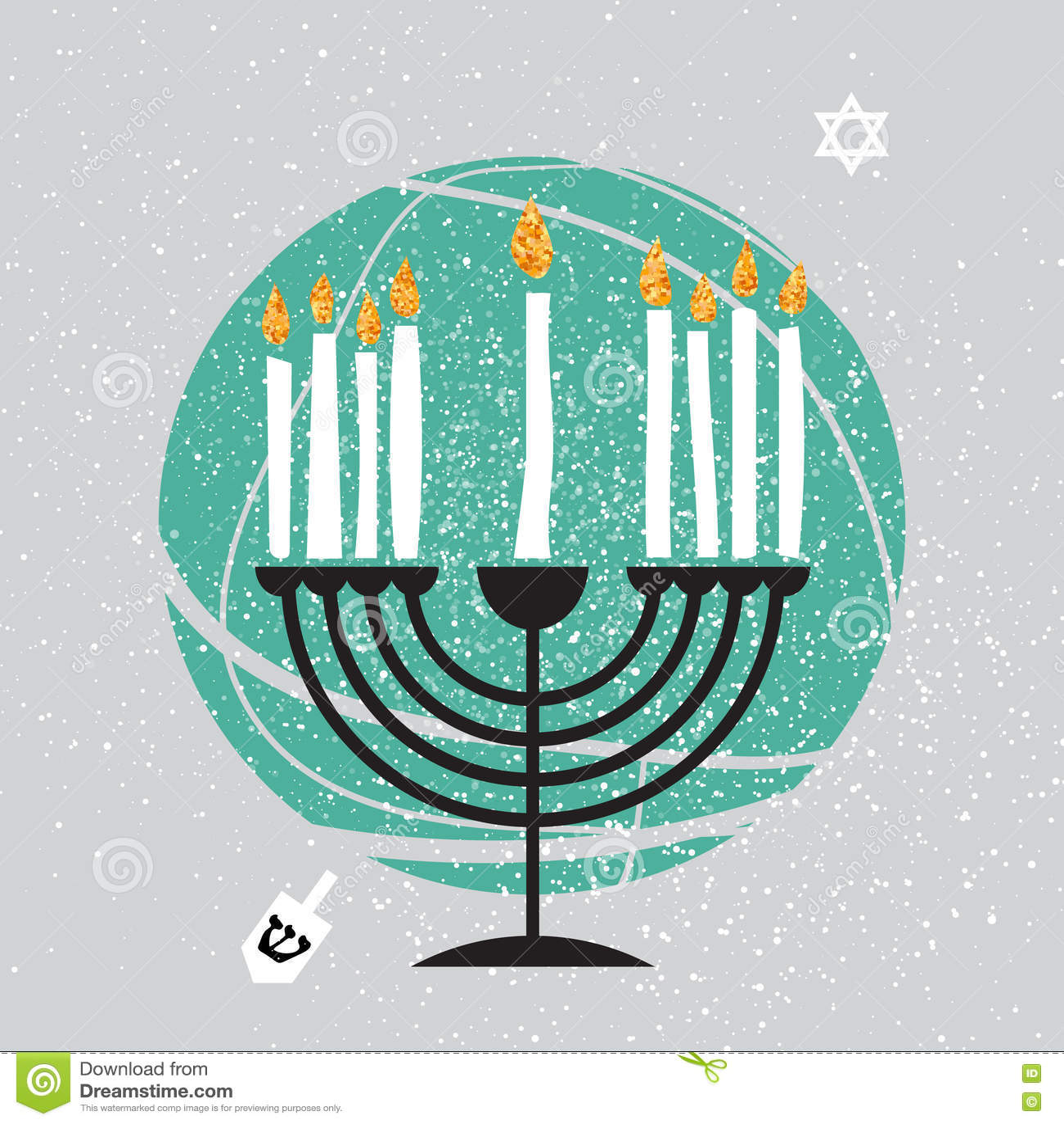 Cute happy hanukkah greeting card jewish holiday with menorah stock download cute happy hanukkah greeting card jewish holiday with menorah stock illustration illustration of m4hsunfo