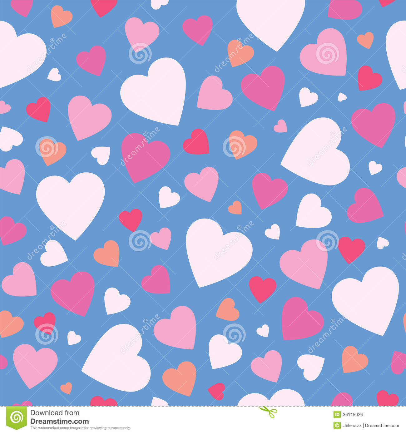 Cute Hearts Background Royalty Free Stock Image - Image ...