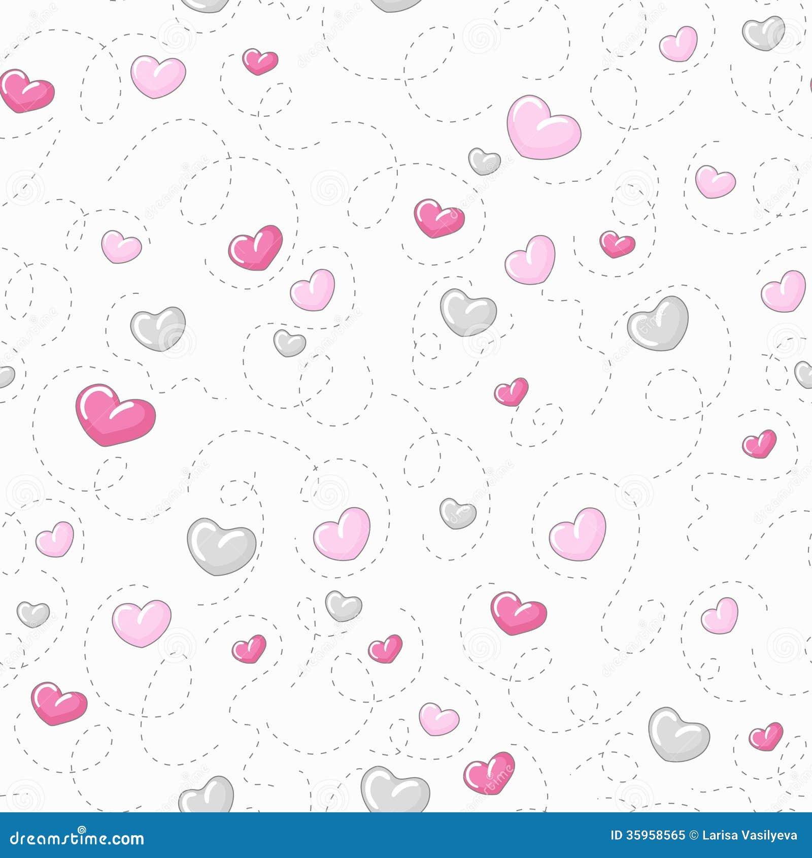 cute heart pattern wallpaper - photo #24