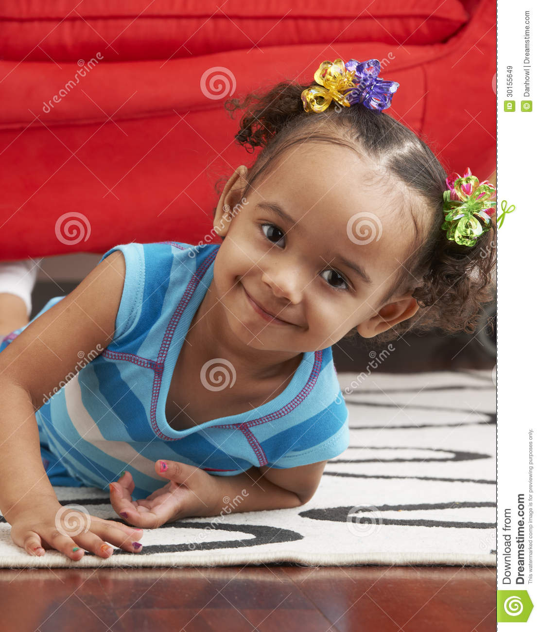 Smiling Toddler At Home Royalty Free Stock Images - Image: 30155649 Well Behaved Child Clipart